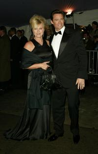Deborrah-Lee Furness and Hugh Jackman at the