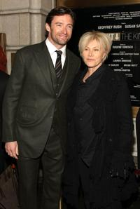Hugh Jackman and Deborrah-Lee Furness at the opening night of