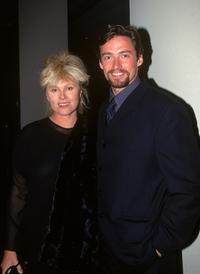 Deborrah-Lee Furness and Hugh Jackman at the Variety Club Heart Awards.
