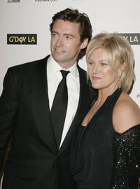 Hugh Jackman and Deborrah-Lee Furness at the Penfolds Icon Gala.