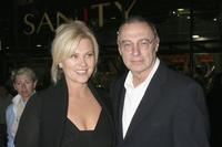 Deborrah-Lee Furness and director Ray Lawrence at the Australian premiere of