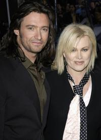 Hugh Jackman and Deborrah-Lee Furness at the premiere of