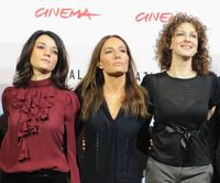 Carmen Consoli, Maria Sole Tognazzi and Kseniya Rappoport at the photocall of