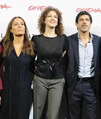 Maria Sole Tognazzi, Kseniya Rappoport and Pierfrancesco Favino at the photocall of