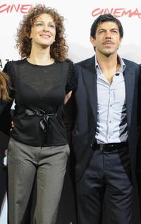 Kseniya Rappoport and Pierfrancesco Favino at the photocall of