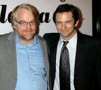 Philip Seymour Hoffman and Dan Futterman at the 31st Annual Los Angeles Film Critics Association Awards.