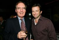 Dan Futterman and Gerald Clarke at the pre-screening dinner for the film