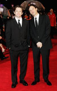 Dan Futterman and Director Bennett Miller at the Orange British Academy Film Awards (BAFTAs).