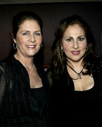 Mo Gaffney and Kathy Najimy at the after party of the opening night of