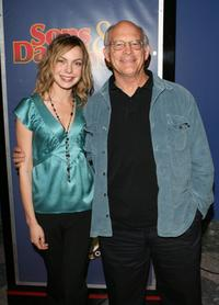 Max Gail and Amanda Walsh at the premiere of