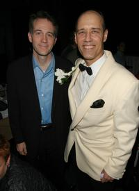 Boyd Gaines and Kevin Greer at the after party of the premiere of