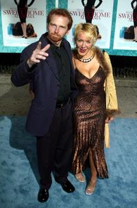 Courtney Gains and Guest at the premiere of