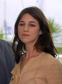 Charlotte Gainsbourg at the 54th Cannes Film Festival.