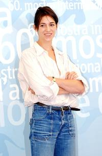 Charlotte Gainsbourg at the photocall