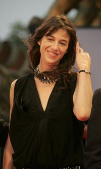 Charlotte Gainsbourg at the premiere of