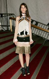 Charlotte Gainsbourg at the Metropolitan Museum of Art's Costume Institute Gala.