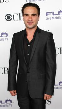 Johnny Galecki at the CBS Comedies Season premiere Party.