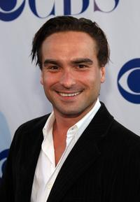 Johnny Galecki at the CBS Summer Stars Party 2007.