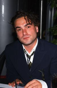 Johnny Galecki at the after party of the premiere of