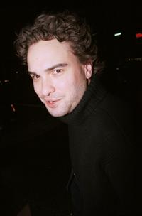 Johnny Galecki at the after-party for