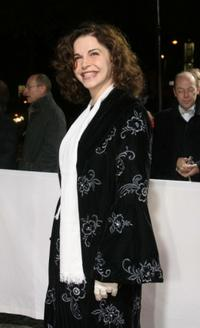 Anna Galiena at the European Film Awards 2005.