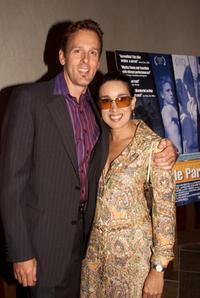 Stephen Kinsella and Eileen Galindo at the screening of