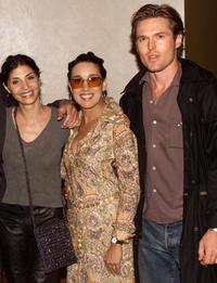 Callie Thorne, Eileen Galindo and Bill Sage at the screening of