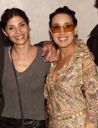 Callie Thorne and Eileen Galindo at the screening of