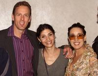 Stephen Kinsella, Callie Thorne and Eileen Galindo at the screening of