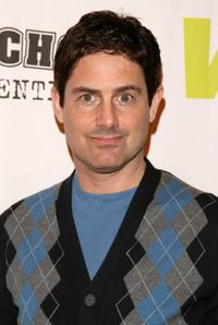 Zach Galligan at the panel discussion and screening of