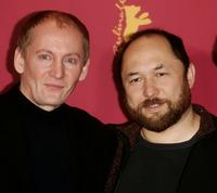 Viktor Verzhbitsky and Timur Bekmambetov at the photocall of
