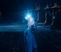 Michael Gambon as Albus Dumbledore in