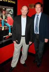 John Ashton and Judge Reinhold at the screening of