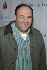 James Gandolfini at the TJ Martell Foundation 7th annual family day.