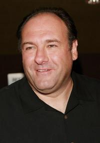 James Gandolfini at a screening of