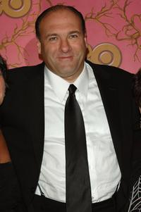 James Gandolfini at the HBO Post Emmy Party.
