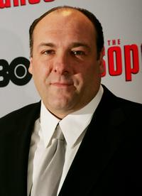 James Gandolfini at thepremiere of