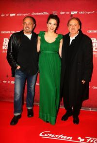 Uli Edel, Martina Gedeck and Bruno Ganz at the German premiere of