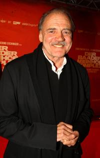 Bruno Ganz at the German premiere of