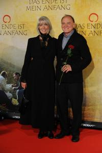 Erika Pluhar and Bruno Ganz at the premiere of