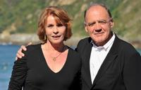 Senta Berger and Bruno Ganz at the 58th San Sebastian International Film Festival.