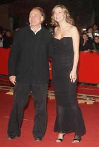 Bruno Ganz and Alexandra Maria Lara at the premiere of