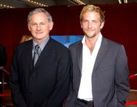 Victor Garber and Bradley Cooper at the 53rd Annual Primetime Emmy Awards.
