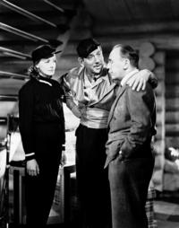 Greta Garbo, Melvyn Douglas and Roland Young in