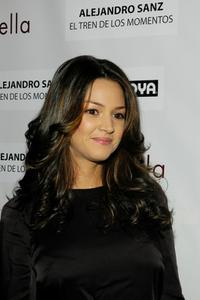 Paula Garces at the People En Espanol celebration of Alejandro Sanz and the stars of
