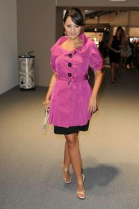 Paula Garces at the Mercedes-Benz Fashion Week.