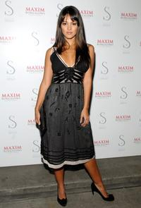 Paula Garces at the Maxim Bungalows hosts launch party for opening in Dominican Republic.