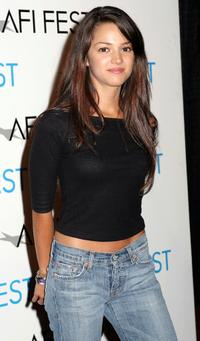 Paula Garces at the screening of