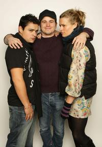 Jesse Garcia, Jason Ritter and Marianna Palka at the 2008 Sundance Film Festival.