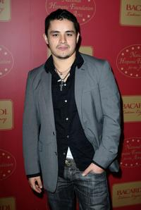 Jesse Garcia at the Bacardi's Latino Legacy Event.